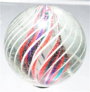 Divided Core Swirl Marble.