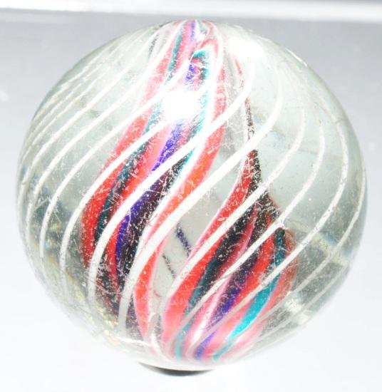9: Divided Core Swirl Marble.