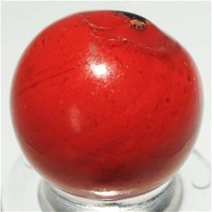 Rare Opaque Cased Marble.