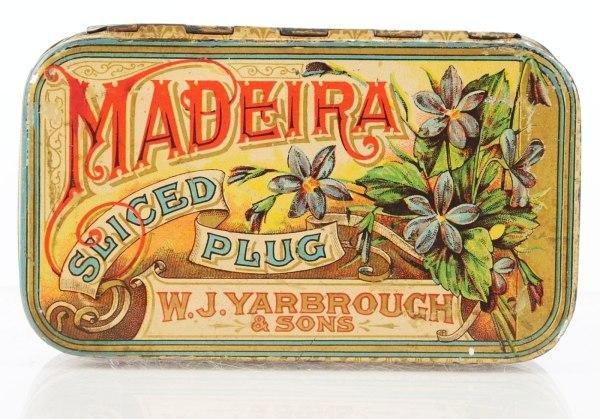 1: Madiera Sliced Plug Tobacco Flat Pocket.