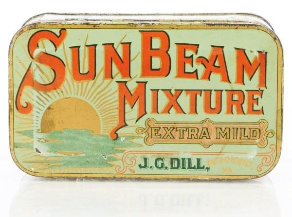3: Sun Beam Mixture Tobacco Tin.