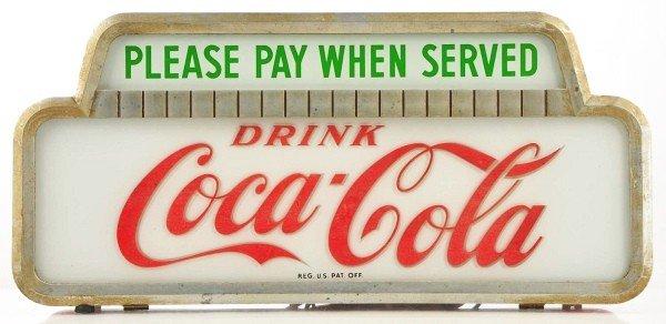 629: Drink Coca-Cola Sign.