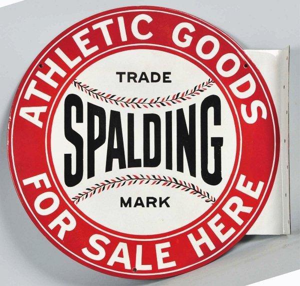 1485: Spalding Porcelain Sign.