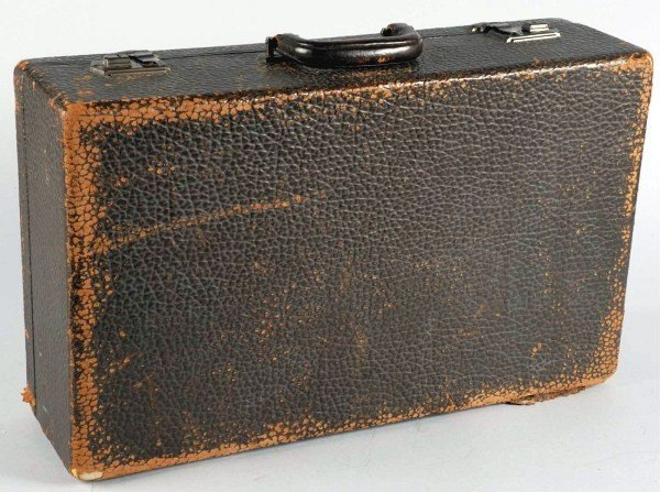8: The Three Stooges Moe Howard Suitcase.