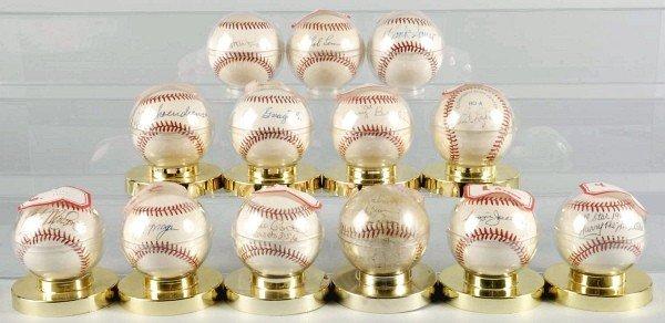 11: Lot of 13: Signed Major League Baseballs.