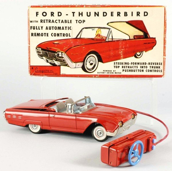 17: Ford Thunderbird Remote Control Battery-Op Toy.
