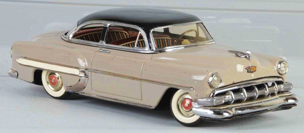 20: Tin 1954 Chevrolet Friction Toy.
