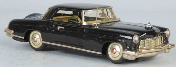 22: Tin 1956 Lincoln Continental Mark II Friction Toy