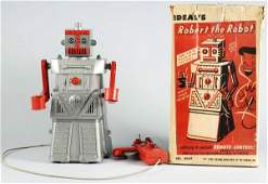 47 Ideal Robert the Robot BatteryOperated Toy