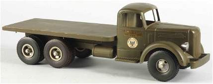 641 Pressed Steel SmithMiller Army Truck Toy