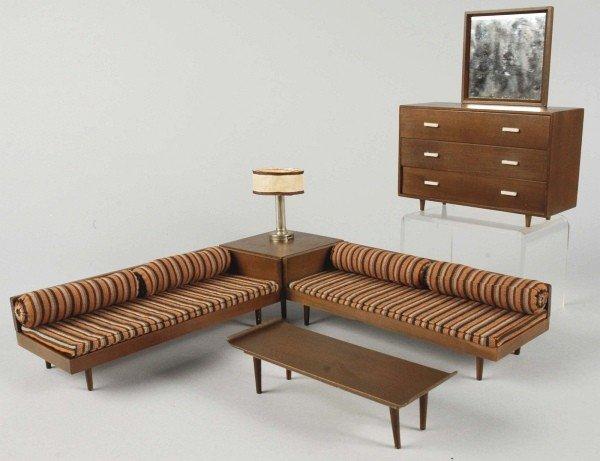 812: Lot of 3: Mattel Modern Furniture Sets.