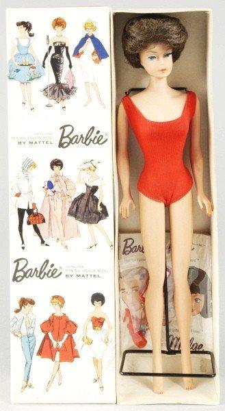 815: Brunette Bubble Cut Barbie Doll.