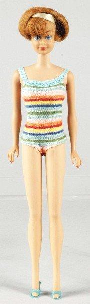 821: Titian Bend Leg Midge Doll.