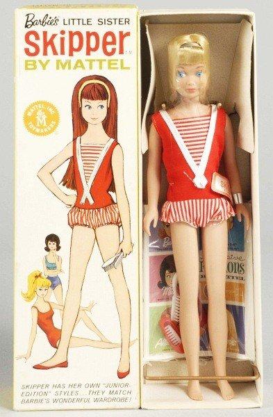 823: Blonde Skipper Doll in Box.