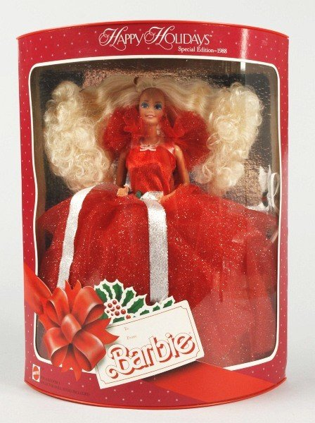 923: 1988 Holiday Barbie Doll NRFB.
