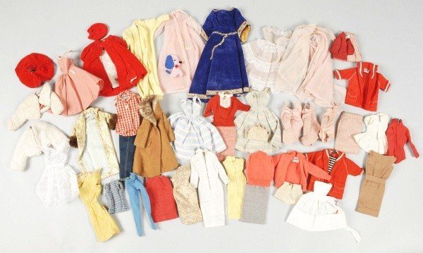 960: Early Barbie Doll Clothing Lot.