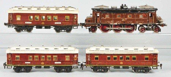 1078: Marklin Gauge 1 Electric Passenger Train Set.