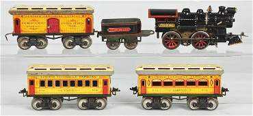 1131 Ives Harvard  Yale Passenger Train Set