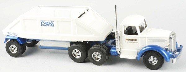 1441: Lot of 2: Fred Thompson Blue Diamond Trucks Toys. - 2