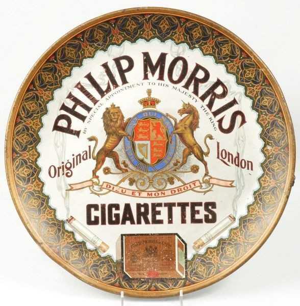 519 Tin Philip Morris Cigarettes Advertising Sign