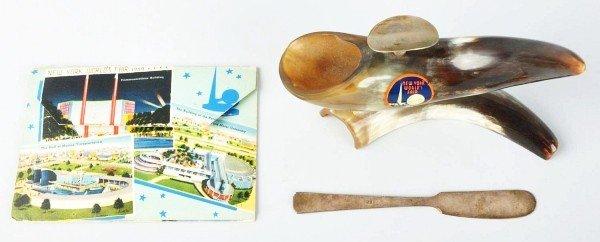 5: Lot of 2: 1939 World's Fair Items.