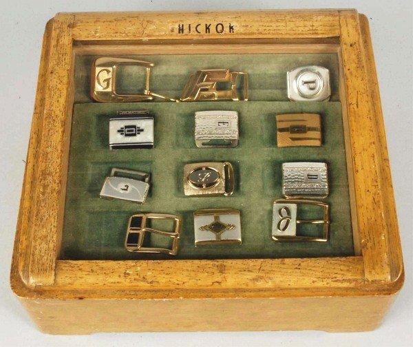 9: Hickok Belt Buckle Store Display Box.