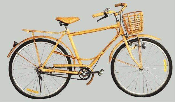 15: Wicker Bicycle.