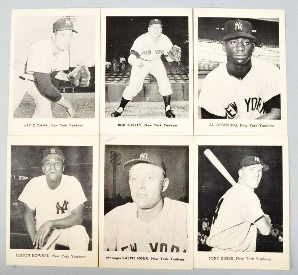 21: 1960s Yankees Premium Insert Photos.