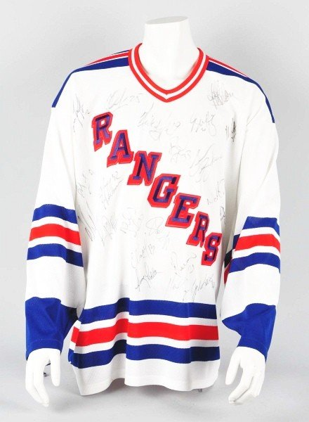 23: New York Rangers 1995-97 Signed Jersey.
