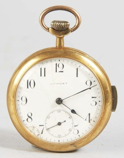 227: Utmost Open Face Repeater Pocket Watch.