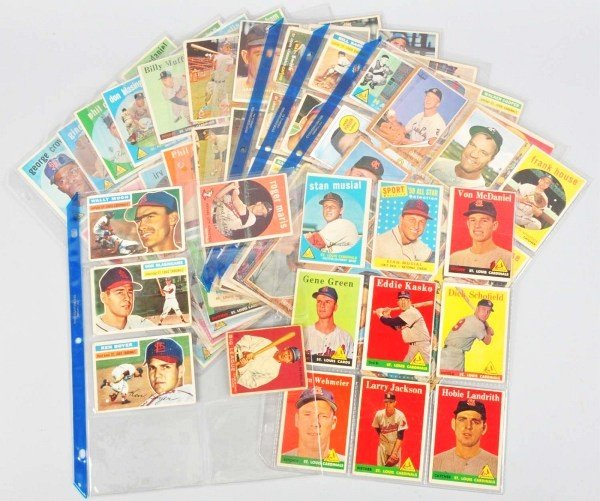 3: Group Lot of Kansas City Royals Baseball Cards.