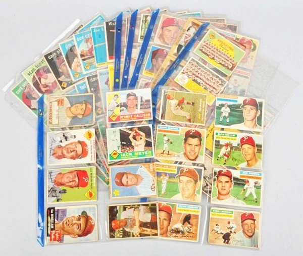 4: Group Lot of Philadelphia Phillies Baseball Cards