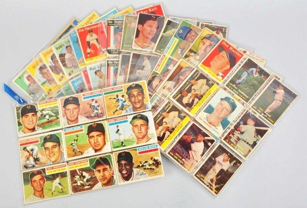 6: Group Lot of San Francisco Giants Baseball Cards.