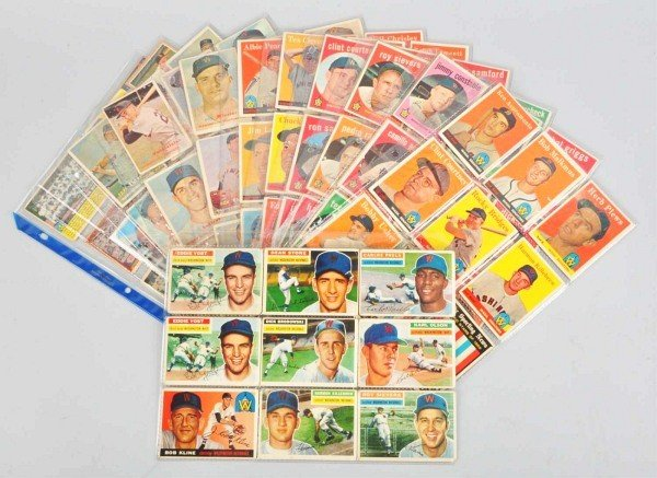 8: Group Lot of Washington Senators Baseball Cards.