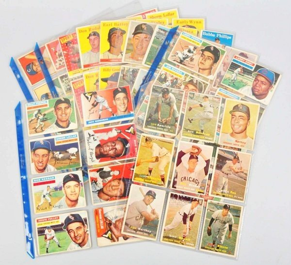 15: Group Lot of Chicago White Sox Baseball Cards.