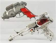 382: Lot of 2: Vintage Space Gun Toys.