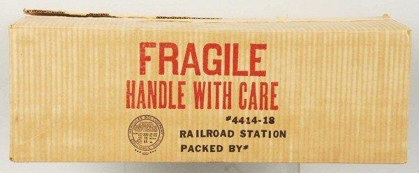 7: Tin Litho Marx Glendale Railroad Station Toy.