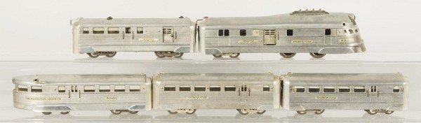 13: American Flyer No. 9900 Streamline Train Set.