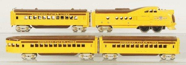 14: American Flyer Union Pacific Streamline Train Set