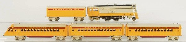 16: American Flyer Hiawatha Passenger Train Set.