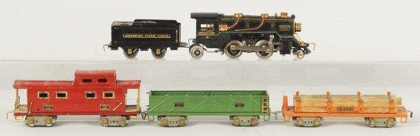 19: American Flyer O-Gauge Freight Train Set.