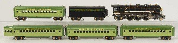 23: American Flyer Streamline Passenger Train Set.