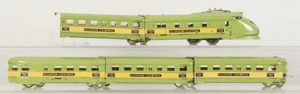 "24: American Flyer ""The Green Diamond"" Passenger Set."