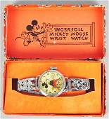 613 Ingersoll Disney Mickey Mouse Wrist Watch