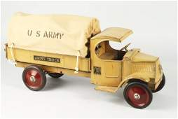 858 Pressed Steel Steelcraft Army Truck