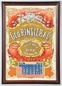 1361 Geo Ringler  Co Beer Brewers Calendar
