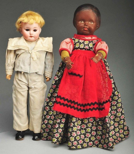 12: Lot of 2: Early 20th Century Dolls.