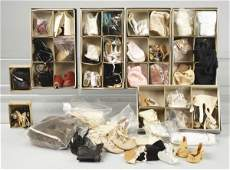225: Large Lot of Doll Shoes.