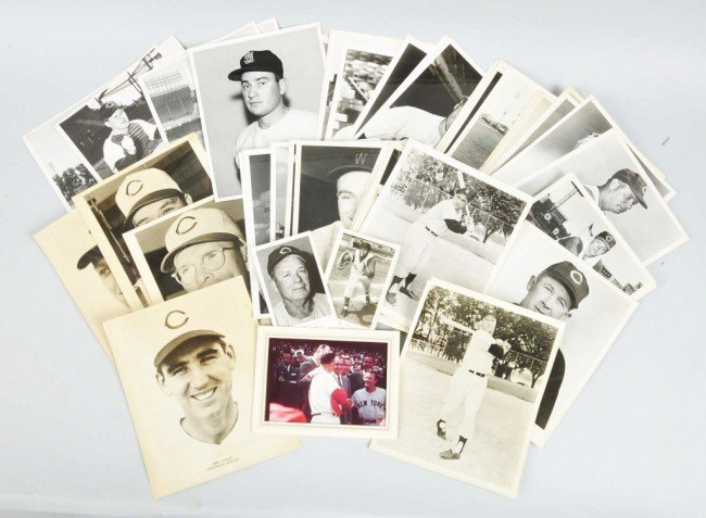 24: Lot of Approx. 50 Baseball & Other Sports Photos.