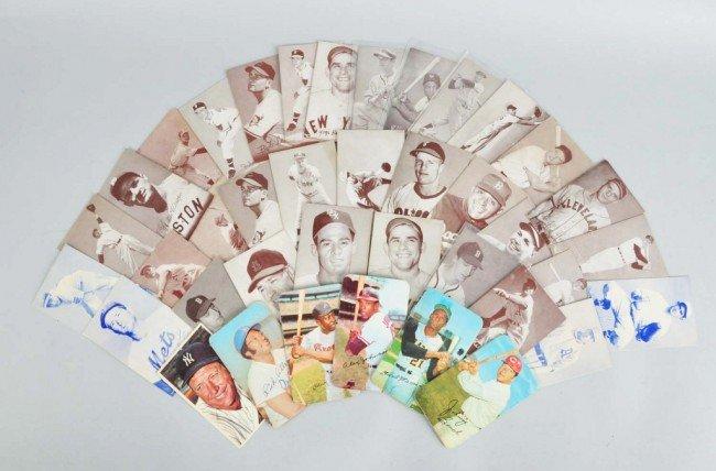 167: Lot of 39: Large-Size Baseball Cards.